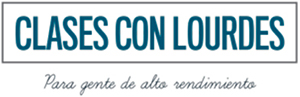 Las clases con Lourdes Logo